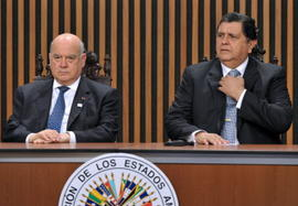 La OEA se reunirá con ex funcionarios de Mel Zelaya y el gobierno actual