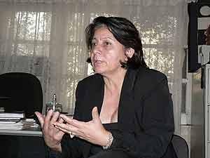 Bertha Oliva del COFADEH