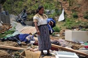 Los guatemaltecos fueron los más castigados