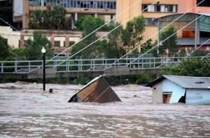 El Barrio La Isla quedó sepultado por el agua