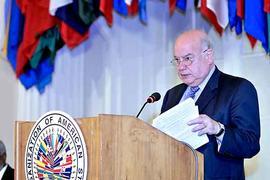 Miguel Insulza OEA