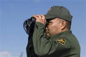 Un policía en el Paso, Texas