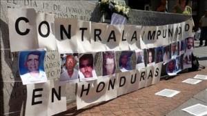 En España hubo protestas contra la Impunidad