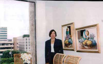 Reyna M Grubair, Presidente Fundación Honduras