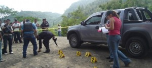 En este vehículo se transportaba José Rolando Herrera Zelaya