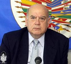 José Miguel Insulza Secretario de la OEA