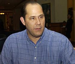 El ex Ministro en el gobierno de Mel Zelaya, Roland Valenzuela